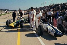 Team Lotus Indy 1963 Dan Gurney, Jim Clark
