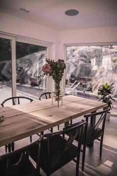 Vart är vårt matbord ifrån? Vad kostar det? Diy Dining Room Table, Dining Table Design, Dining Furniture, Kitchen Interior, Interior Design Living Room, Zen Home Decor, Modern Kitchen Design, Home Living Room, Future
