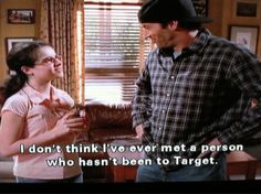 """Gilmore Girls.  I don't think I was ever really an """"April"""" fan.   To me she represented what went wrong with the show for a while."""