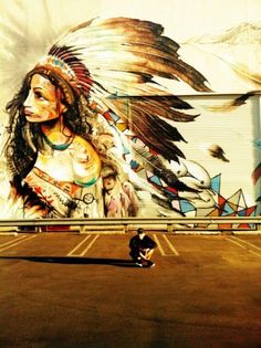 grafitti indigena.