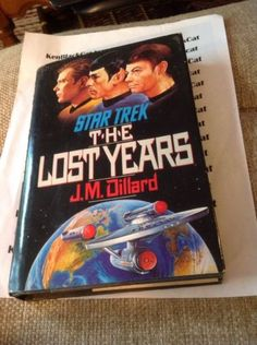 Star-Trek-The-Lost-Years-A-Novel-By-J-M-Dillard-Hard-Cover-Spock #ebay #book #startrek #kenblackcat