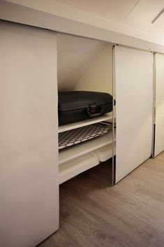 ALGOT systeem KVARTAL paneelgordijn | IKEA zolder/ opberger / kast / schuin