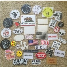 Brandy Melville Accessories - Brandy Melville stickers 12 for $10