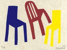 Klaas Gubbels (1934-) – La Chaise (2000)