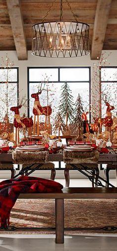 Fabric Reindeer ✿⊱╮