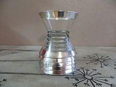 Dorthy Thorpe Salad Bowl set of 6 Silver by VintageShoppingSpree