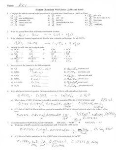 Chemistry Class 12, Chemistry Classroom, Teaching Chemistry, Chemistry Lessons, Science Lessons, Chemistry Worksheets, Printable Preschool Worksheets, Writing Worksheets, Worksheets For Kids