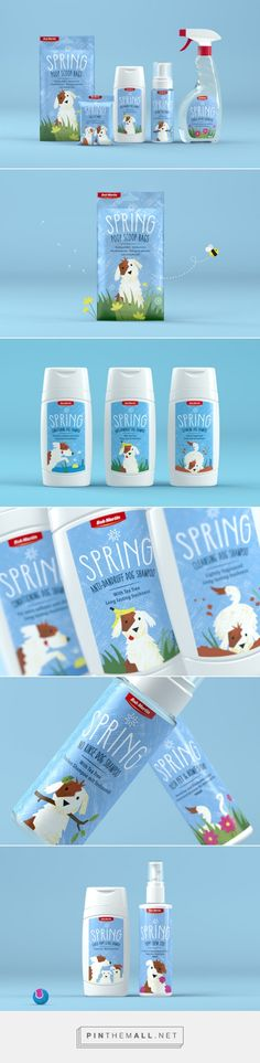 Spring cute packaging for doggies celebrating National Dog Day with some favs PD : )
