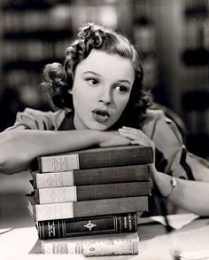 Judy Garland. Strike Up the Band, a 1940 American black and white musical film.