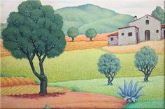 Lluis Puig Barella Painting, Art, Scenery Paintings, Oil On Canvas, Canvases, Painting Art, Paintings, Kunst, Paint