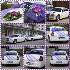 Wedding car decorations purple artificial flowers wedding bear wedding decoration car junglespirit Choice Image