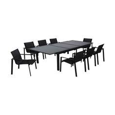 SALON DE JARDIN BEAU RIVAGE Salon de jardin table basse avec canap ...