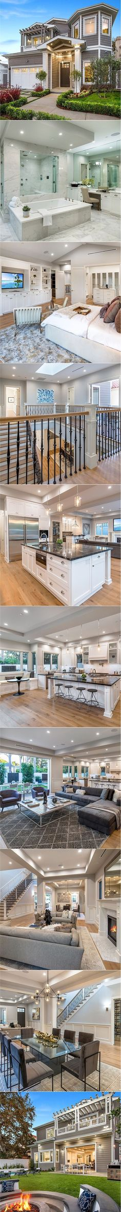 Stunning brand new Traditional in a highly desirable area of Brentwood with an abundance of new homes. Space, Volume & amenities are evident as you enter the home. Living room opens to an office overlooking the front yard. Formal dining room is flanked by French doors & opens to a water element on one side […]