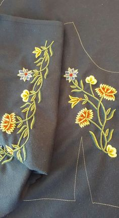 Scandinavian Embroidery, Going Out Of Business, Sewing Crafts, Costumes, Popular, Manga, Art, Art Background, Sleeve