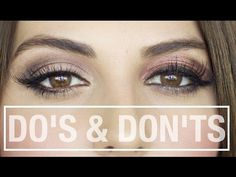 How To: LOOK BEAUTIFUL WITH NO MAKEUP - YouTube