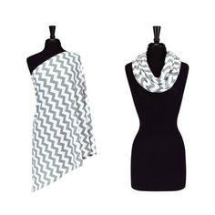 2-in-1 Infinity Scarf and Breastfeeding/Nursing Cover - so chic and useful for new moms!