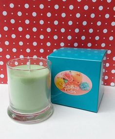 Mistletoe Wreath 12 oz. Soy Candle by PudgeBabyCandles on Etsy
