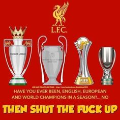 """Annie's Anfield on Twitter: """"Good morning Reds🔴To all the haters👇😂Happy Sunday😊 #LFC #LFCchampions ❤… """" Liverpool Kop, Liverpool Poster, Liverpool Tattoo, Liverpool Football Club, Football Team, Lfc Wallpaper, Liverpool Fc Wallpaper, Liverpool Wallpapers, Wallpaper Desktop"""