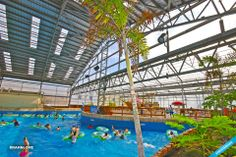 Winter Blues? Visit the indoor water park at Schlitterbahn Beach Resort hotel. A retractable roof makes it a year round destination. www.sopadre.com #visitsouthpadreisland