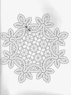 Bobbin Lace Patterns, Doily Patterns, Crochet Motif, Crochet Lace, Fabric Stiffener, Romanian Lace, Bobbin Lacemaking, Lace Painting, Swedish Weaving