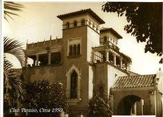 Club Paraíso. 1950. Actualmente Hogar Canario Venezolano Andes Mountains, Canario, Club Paraiso, Abandoned Buildings, South America, Habitats, Caribbean, Koh Tao, Mansions