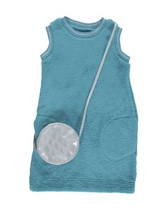 Fleece Dress & Bag Set
