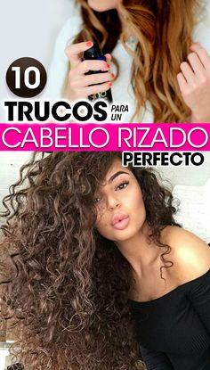 Trucos para un cabello rizado perfecto. curlyhair hacks. curl girls. hacks  hair Cabello 9f756bff2e46