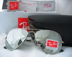 Rayban Aviator Mirror. Bought them && love them!