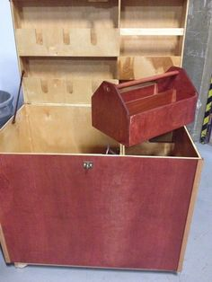 DIY handmade tool box, used for horse medicine storage..or whatever your fancy. -Michael Briehler