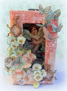 How to Make a Graphic 45 Matchbook Box by Solange using Sweet Sentiments and Scrapbook Adhesives #Graphic45