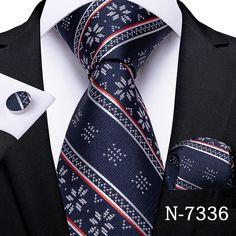 New Blue, Blue And White, Black, Suit Up, Mens Fashion Suits, Mens Suits, Mens Silk Ties, Cufflink Set, Tie Set