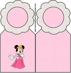Minnie Princesa: Tarjetería para imprimir gratis