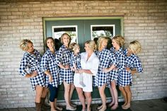 #Flannel get ready shirts! #weddinggetreadyshirts #bridesmaidgifts