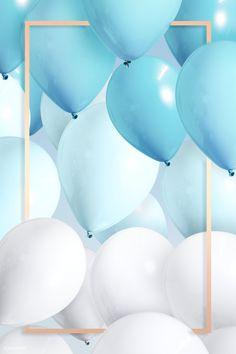 Birthday Background Wallpaper, Birthday Background Design, Balloon Background, Happy Birthday Wallpaper, Bday Background, Happy Birthday Blue, Happy Birthday Posters, Happy Birthday Wishes Images, Happy Birthday Greetings