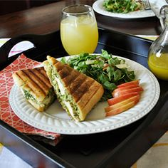 Asparagus Prosciutto Panini with Garlic Mayonnaise- a delicious and ...