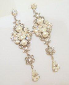 Chandelier in Earrings - Etsy Jewelry