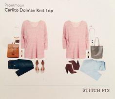 Stitch Fix May 2015 Papermoon Dolman Knit Top