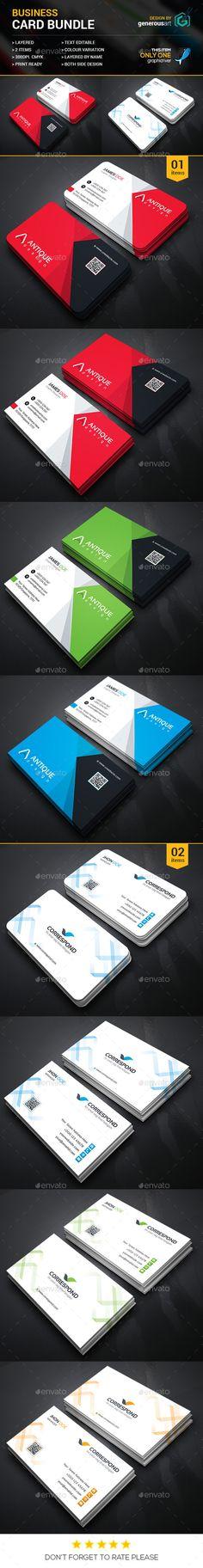 Business Card Bundle 2 in 1_2 - Corporate Business Cards Downlaod here : http://graphicriver.net/item/business-card-bundle-2-in-1_2/12247132?s_rank=1704&ref=Al-fatih