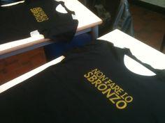 Silkprinted tshirts