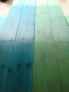 Outdoor Patio Table, Mixol Green U0026 Blue In Helmsman Outdoor Sealer. Part 67