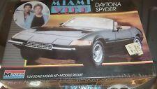 VINTAGE 1986 MONOGRAM MIAMI VICE DAYTONA SPYDER Model Car Mountain FS 1/24