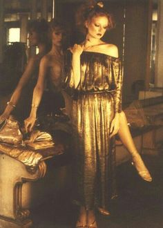 Sunny Redmond & Chris Royer for Vogue, 1979, Photographer, Deborah Turbeville