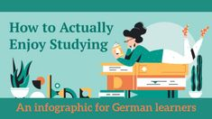 Foreign Language Teaching, Studying, Just In Case, Helpful Hints, Infographic, German, Motivation, Learning, Videos