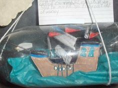 ship in a bottle from 5th Grade Happenings- Room 111