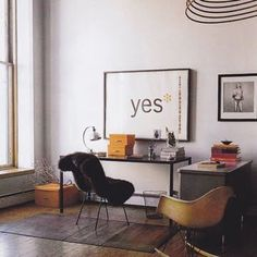Desk space. Photo from Australia Vogue Living // repinned by www.womly.nl #womly #interieur