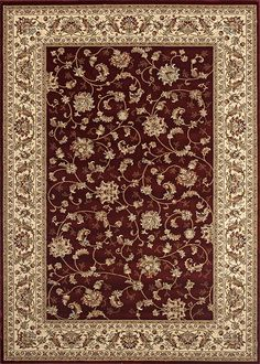 Traditional Isphahan Red 7'10' X 10' 2' Area Rug -- Click image to review more details. (This is an affiliate link) #CozyHomeDecor