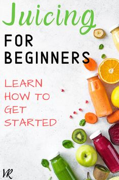 Check out this juicing for beginners guide and learn how to get started with juicing. Learn about the benefits of juicing for health and get some juicing recipes and tips! Juicer Recipes, Blender Recipes, Healthy Recipes, Advocare Recipes, Ninja Recipes, Jelly Recipes, Cleanse Recipes, Salad Recipes, Healthy Food