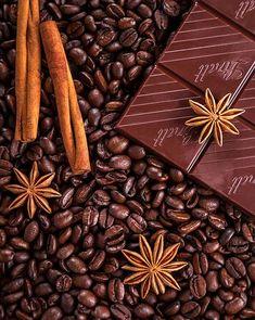 Káva, Čokoláda, Skořice, Anýz