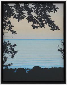 Devin Leonardi . the far shore, 2012 / oil on canvas
