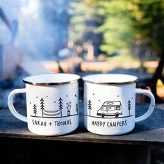 Happy Camper Vanlife Camp Mug